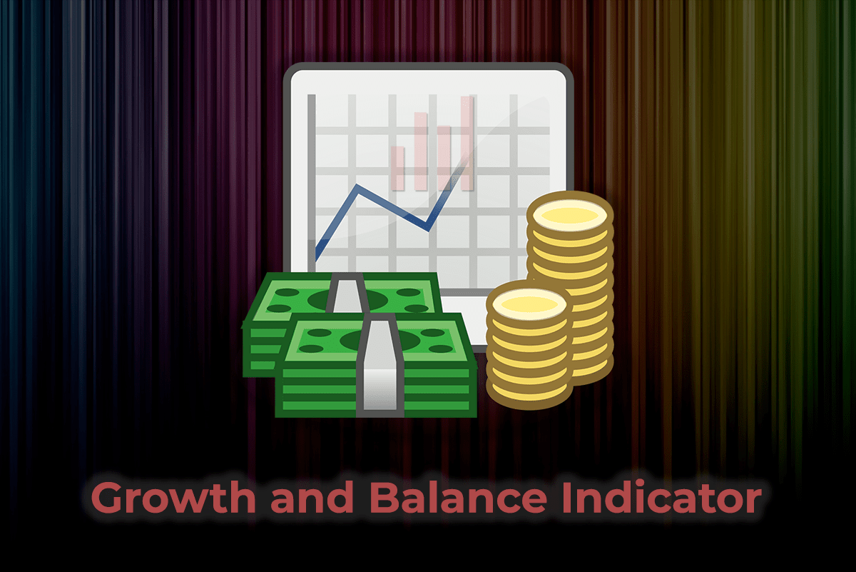 Индикатор отображения статистики торговли Growth and Balance indicator