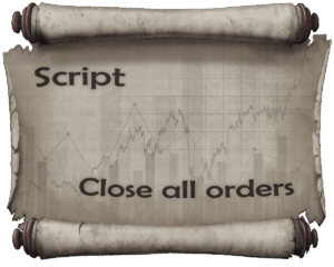 Scripts for closing deals and deleting pending orders