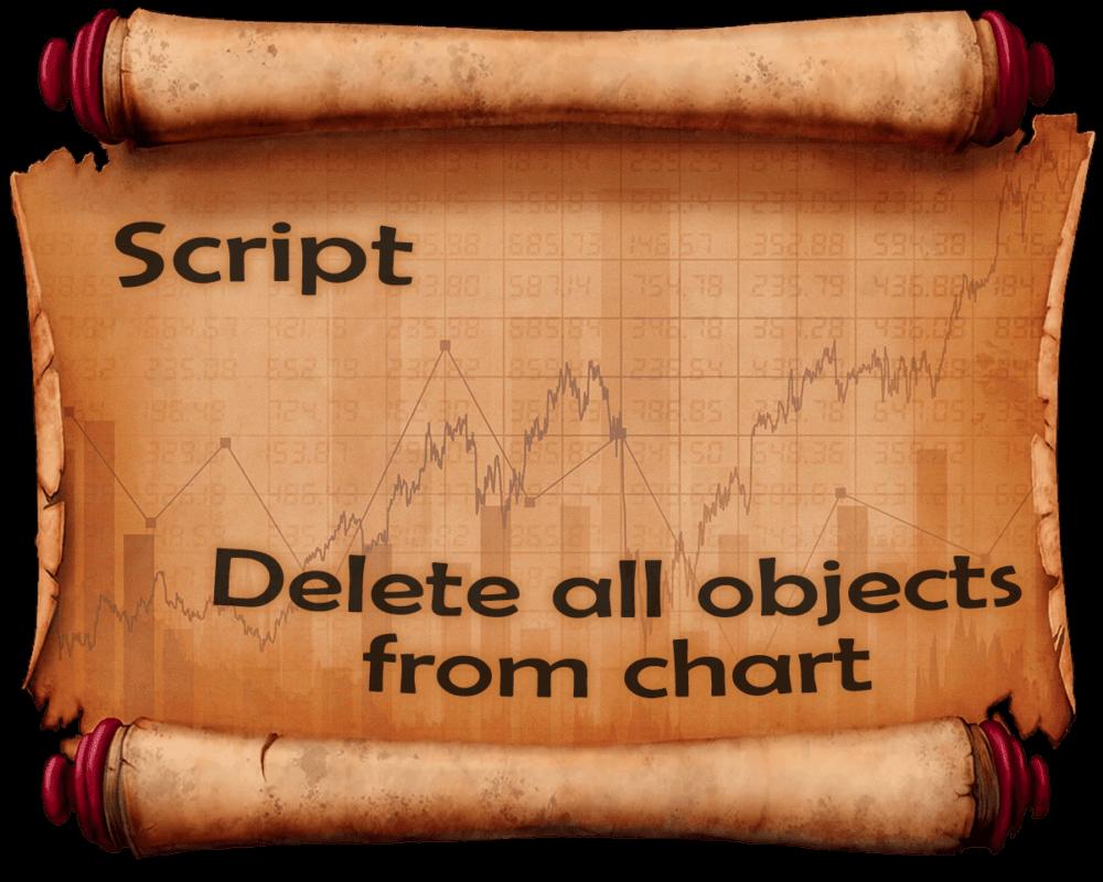 Скрипты для удаления лишних объектов с графика